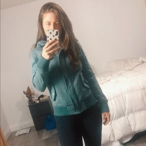 Comfy Green Salt + Pepper Billabong Jacket